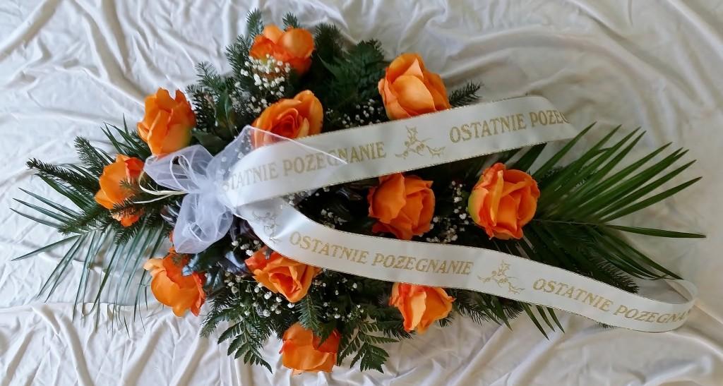 Wiązanka na pogrzeb