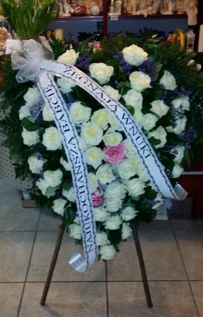 Wieniec na pogrzeb Krosno Odrzańskie