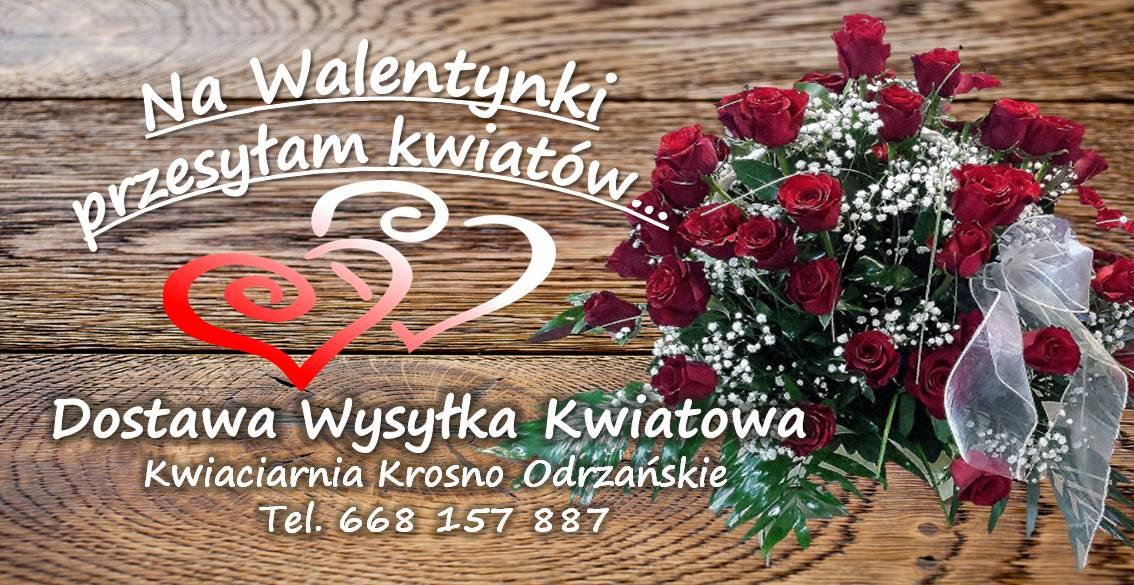Walentynki Wyślij Kwiaty