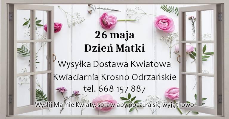 Kwiatowa Kwiaciarnia Krosno Odrz.