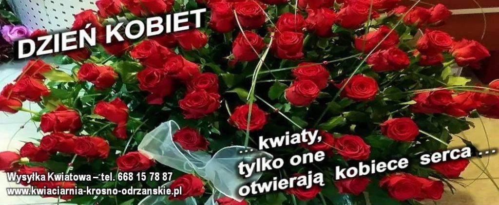 Dzień Kobiet Dostawa Kwiatowa